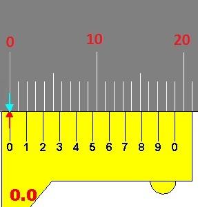 vernier scale division