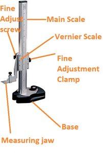 what is vernier height gauge