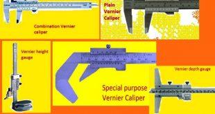 types of vernier caliper
